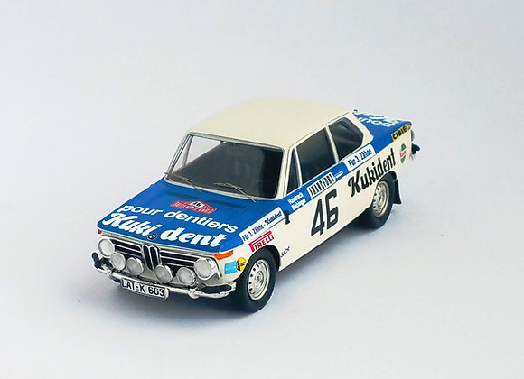 BMW 2002 ti - Monte-Carlo Rally 1973: Reinhard Hainbach/W. Biebinger