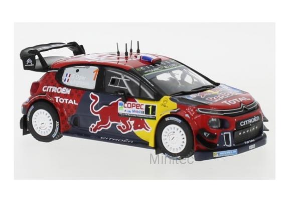 RAM712 Citroen C 3 WRC, No.4, WRC, R.Chile, S.Ogier/J.Ingrassia, 2019