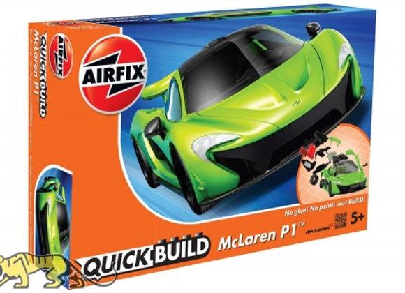 AIRFIX QUICK BUILD MCLAREN P1 GREEN