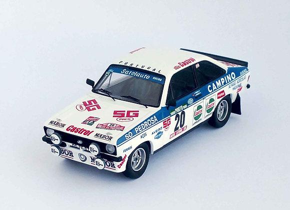 Ford Escort Mk2 - Rally of Portugal 1981: Carlos Torres / António Morais