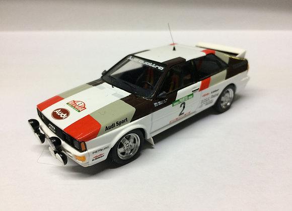 Audi quattro: Rally of Portugal 81: Mikkola / Hertz