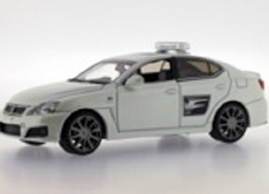 """LEXUS IS-F """"Rolex Monterey Safety Car"""" 2009 - J Collection 121"""