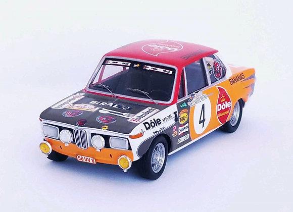 BMW 2002 TI 1ST YPRES RALLYN 1973 PEDRO/JIMMY