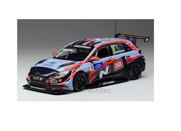 Hyundai i30 N TCR, No.5, squadra Corse team, WTCR, N.Michelisz, 2019