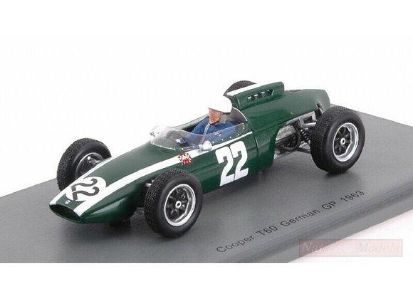 COOPER T60 N.22 GP ALLEMAGNE 1963 NICHA CABRAL