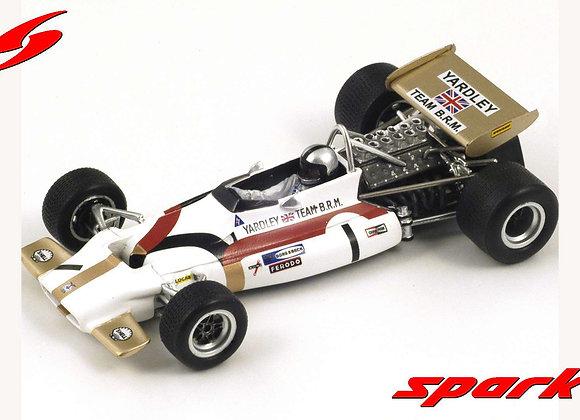 BRM P153 n°1 Vainqueur GP F1 Belgique 1970  P Rodriguez   SPARK MIXS1739