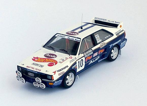 Audi quattro - National Breakdown Rally 1987: John Bosch / Guy Hodgson