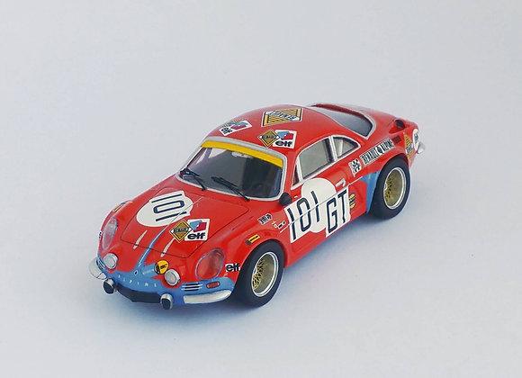 Alpine-Renault A110 - 1000km Nürburgring 1971: #101 Schulze-Schwering / Betzler