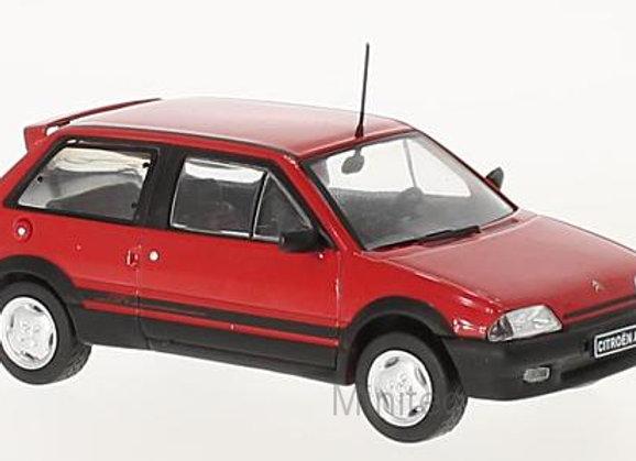 Citroen AX Gti, red