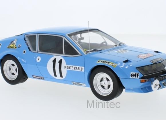 Alpine Renault A 310 No.11 Monte Carlo A.Warmbold, 1975