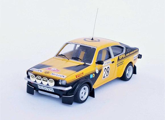 Opel Kadett GT/E #28 - Monte-Carlo Rally 1976:Anders Kullang / Claes-Gö