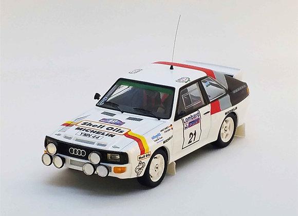 RRuk26Audi Sport quattro - RAC rally 1986: Harald Demuth / Steve Bond