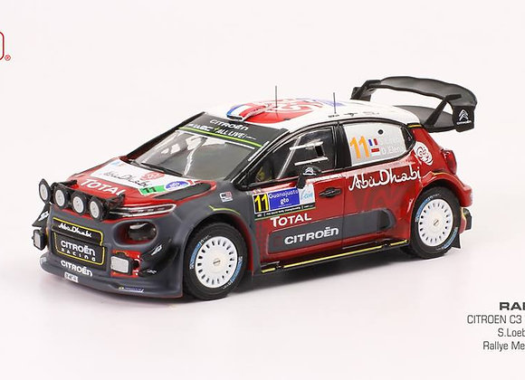 CITROËN C3 WRC #11 - S. LOEB-D. ELENA RALLY TOUR DE MEXICO 2018