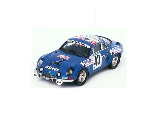 Alpine-Renault A110 Shekhar Mehta - Mike DoughtyRally Bandama74