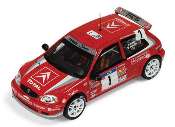 CITROEN SAXO S1600 Kit Car #1 A.Araujo - 1st R Portugal 2004