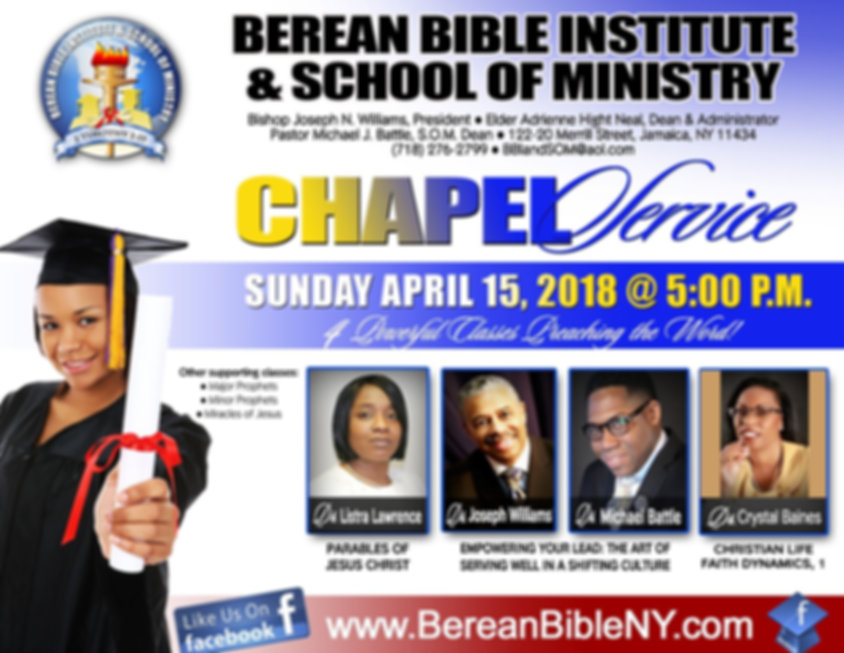 BBI Chapel Service