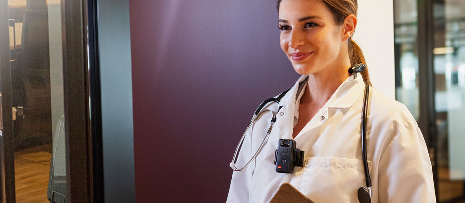¿Médicos usando cámaras corporales?