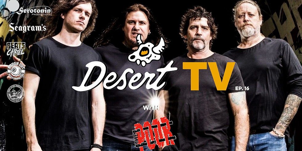 THE POOR Live on DesertTV (FREE!)