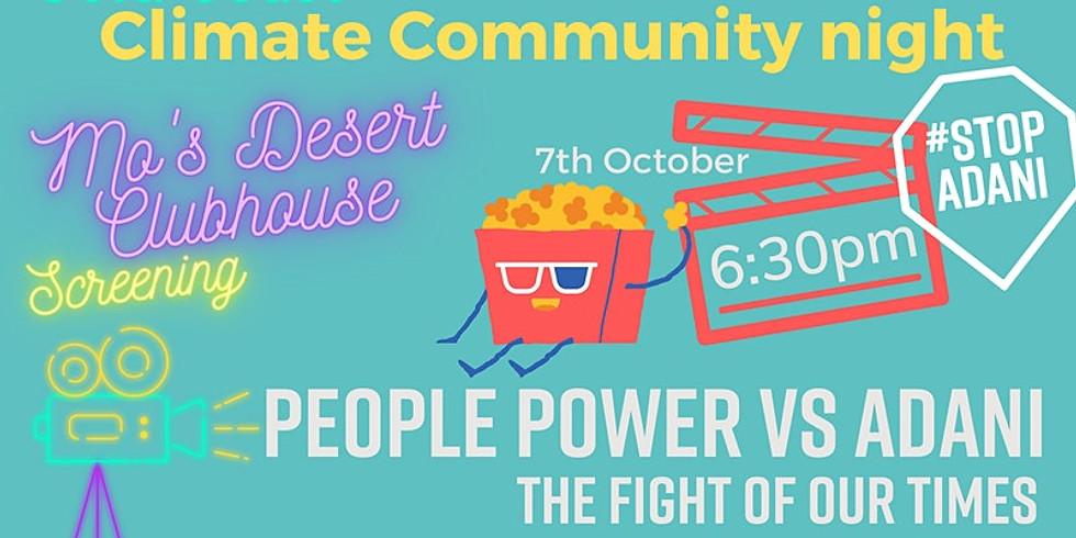 People Power vs Adani Film Premier