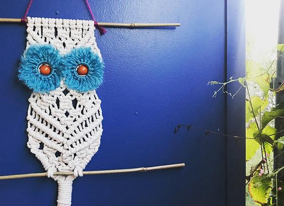 Macrame Owl Pattern