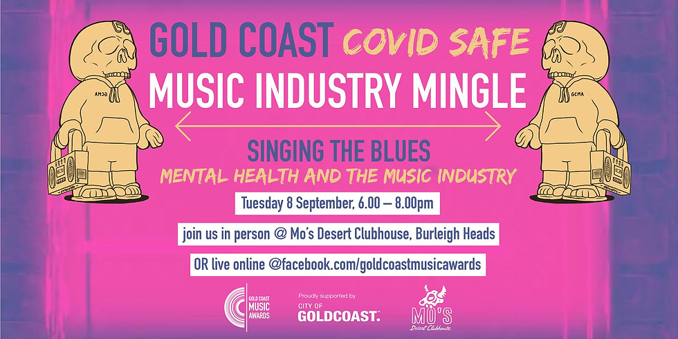 Music Industry Mingle - Singing The Blues