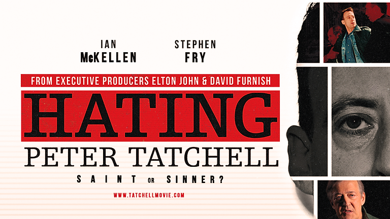 """CLIMATE COMMUNITY FILM NIGHT """"Hating Peter Tatchell""""."""