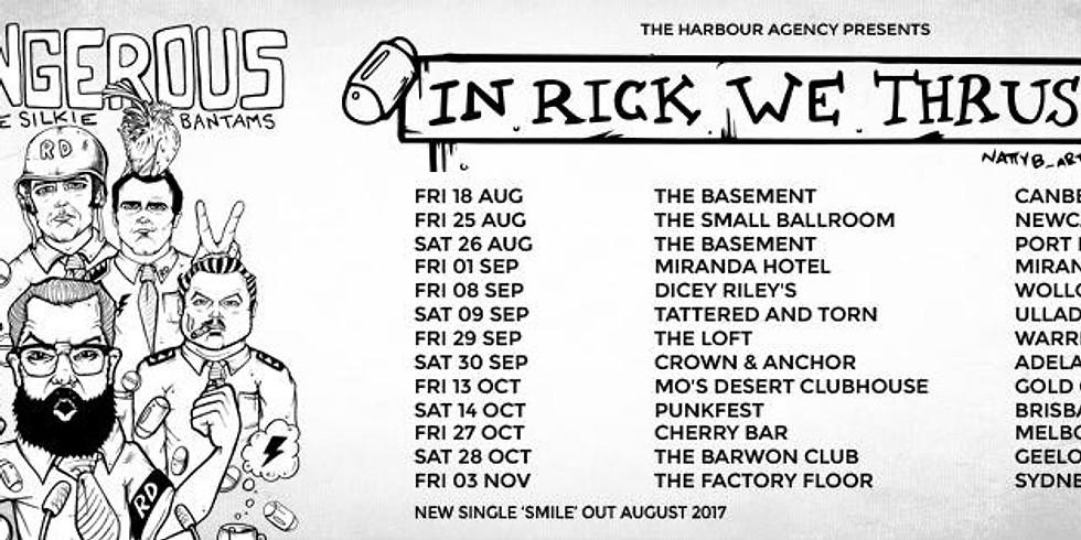 IN RICK WE THRUST TOUR
