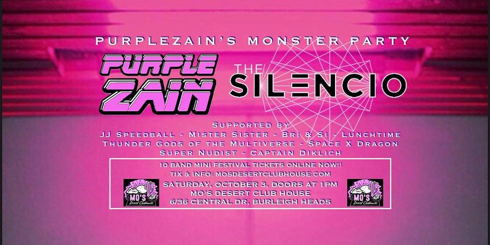 PURPLEZAIN'S MONSTER PARTY