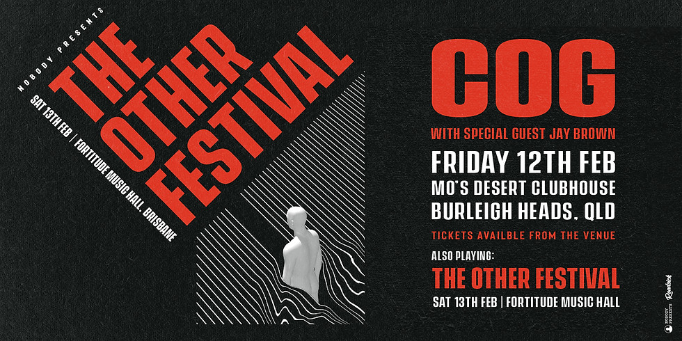 ***SOLD OUT*** COG Live at Mo's