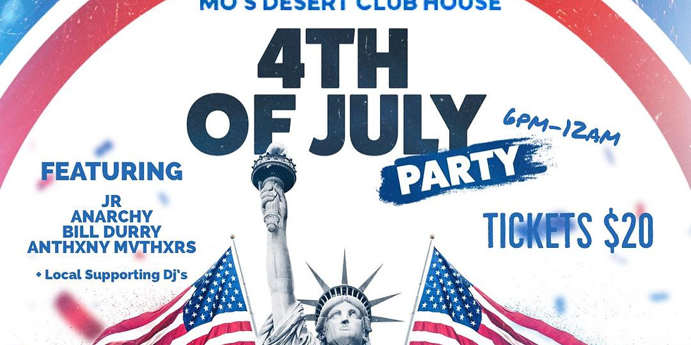 4TH OF JULY DOWNUNDER PARTY