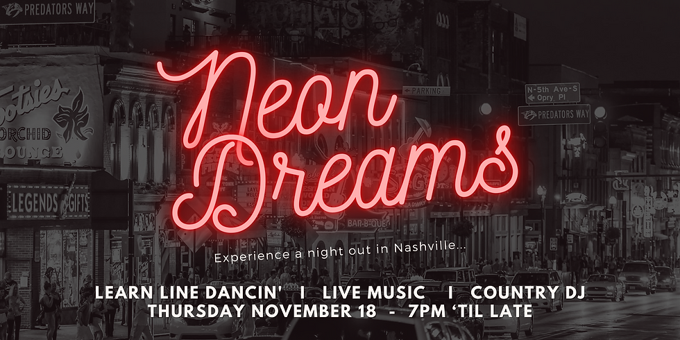 Neon Dreams: A night out in Nashville