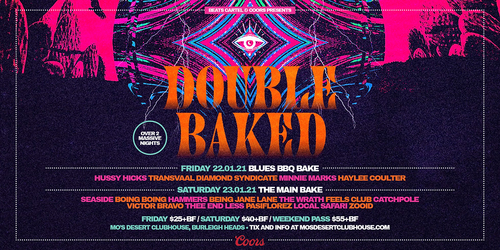 ***SOLD OUT*** DOUBLE BAKED // Blues BBQ Bake