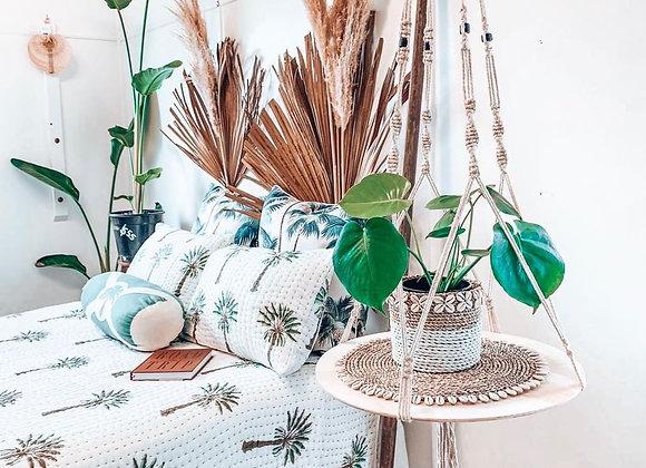 DIY MACRAME PATTERN - Large Plant Hanger/Side Table