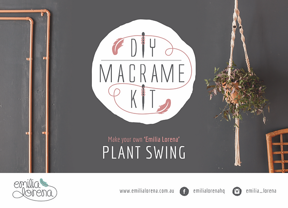 DIY Macrame Plant Swing | Macrame Pattern