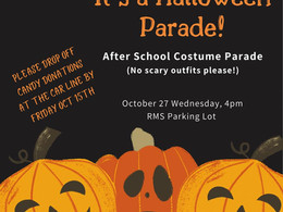 RMS Halloween Parade