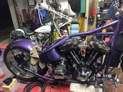 Purple Bike 7