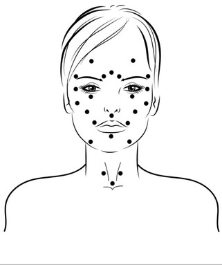 Acupressure Face lift Technique