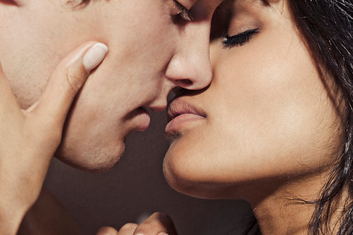 The art of kissing.