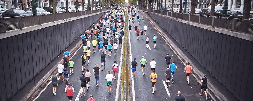市のマラソン