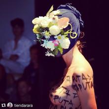 Máscara: Cecilia Morales