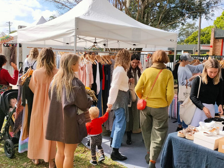 The First Bangalow Flea Market