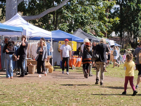 how bangalow flea markets was born