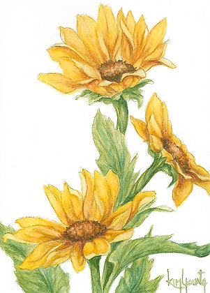 Sunflowers-Print