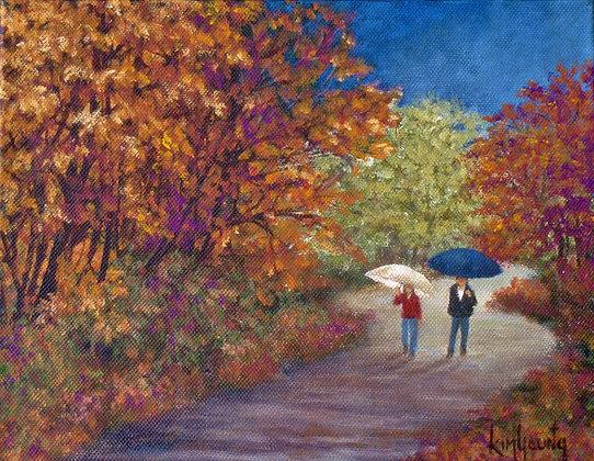 Autumn Rain-Print