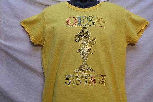Order of The Eastern Star PriS'e Girl bling tshirt