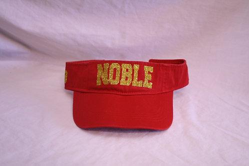 Noble sun visor cap