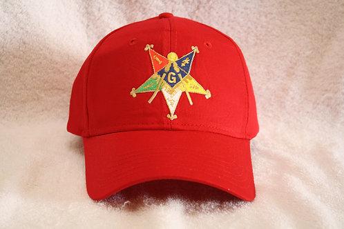 Past Patron Mason ball cap with embroidered logo emblem