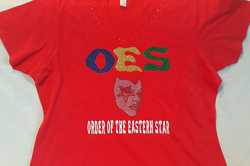 Order of The Eastern Star Crossing Mask t-shirt
