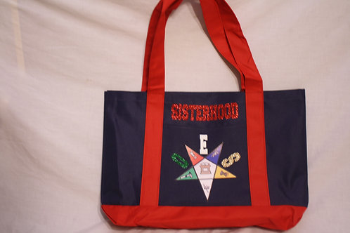 OES - Order of the Eastern Star cruiser boat logo tote bag