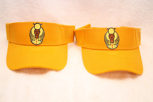 DOI PHO Daughter sun visor with logo emblem